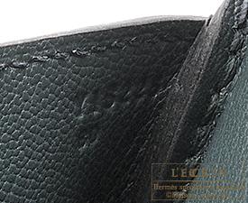 Hermes Birkin bag 35 Vert rousseau Togo leather Silver hardware